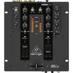 Behringer - Pro Mixer NOX101 Profesyonel 2 Kanal USB Dj Mikseri