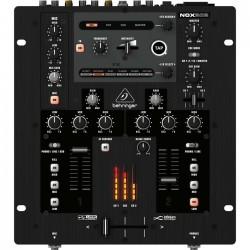 Behringer - Pro Mixer NOX202 Profesyonel 2 Kanal USB Dj Mikseri