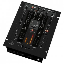 Behringer - Pro Mixer NOX404 Profesyonel 4 Kanal USB Dj Mikseri