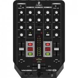 Behringer - Pro Mixer VMX200USB 2 Kanal Profesyonel USB Dj Mikseri