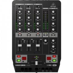 Behringer - Pro Mixer VMX300USB 3 Kanal Profesyonel USB Dj Mikseri