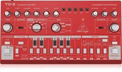 Behringer - TD3-RD Analog Synthesizer (Kırmızı)