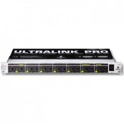 Behringer - Ultralink MX882 8 Kanallı Splitter Rack Tipi Zone Mikser