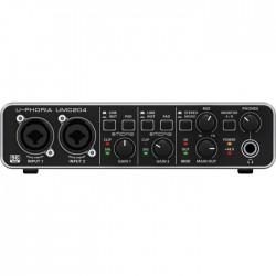 Behringer - UMC204 2x4 USB Midas Mikrofon PreAmfi Ses Kartı