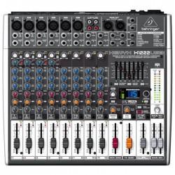 Behringer - Xenyx X1222USB 12 Kanallı USB Deck Mikser