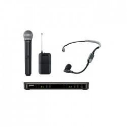 Shure - BLX1288E/SM35 Dual Wireless System