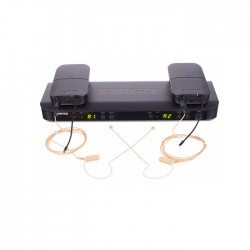 Shure - BLX188E/MX53 Kablosuz İkili Heat Seti