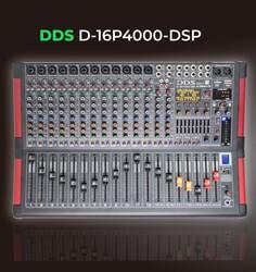 DDS - D16 P4000 DSP 4000 Watt 16 Kanal Power Mikser