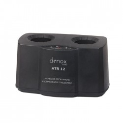 Denox - ATR-12 Telsiz Mikrofonlar İçin Şarj Cihazı Standı