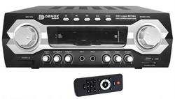 Denox - DXV-Logic 802 MIC 120 Watt Stereo Amfi 'kablosuz mikrofon ile