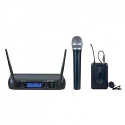 Denox - MDR-220 EL+YAKA UHF Telsiz El ve Yaka Mikrofon