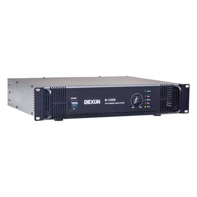 D-1200 Hat Trafolu Power Anfi Tek Kanal 200W