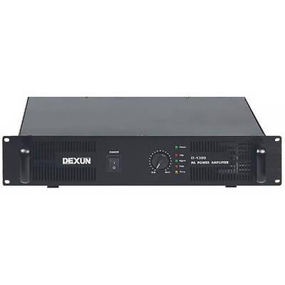 D-1300 Tek Kanal 300W Power Amplifikator