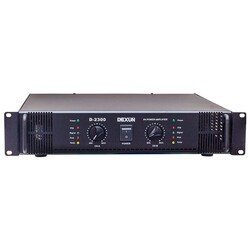 Dexun - D-2300 Power Amfi Çift Kanal 2x200W