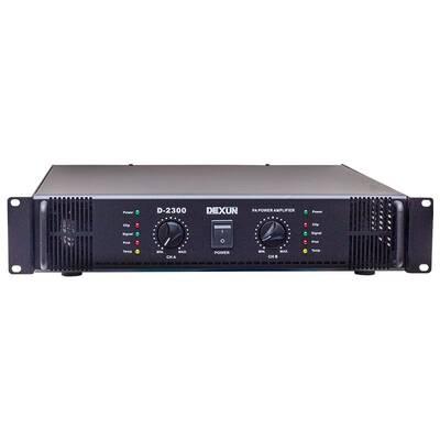 D 2300 Power Amfi Çift Kanal 2x200W