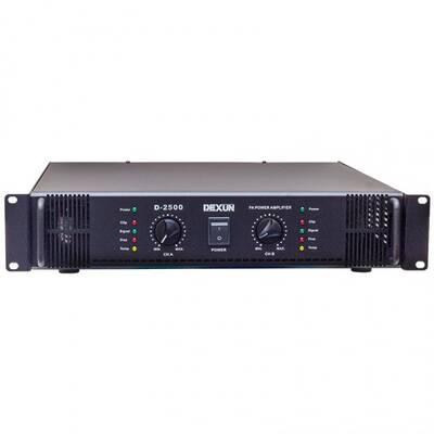 D-2500 Power Amfi Çift Kanal 2x350W