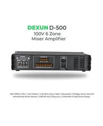 Dexun - D-500 100V 6 Bölgeli Anfi