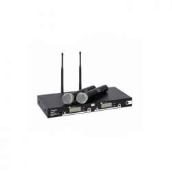 Doppler - DM-552H UHF Çift Anten El, 6x16 Kanal IR Dijital Mikrofon