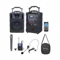 Denox - DN-P1150 Taşınabilir Kablosuz Çanta Anfi El+Headset