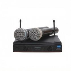Doppler - DM-152H Çift Anten Çift El Telsiz Mikrofon
