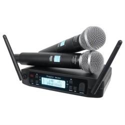 Doppler - DM-232H Çift Anten Çift El Uhf Telsiz Mikrofon
