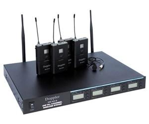 DM-400B UHF Çift Anten 4 Yaka Dijital Receiver