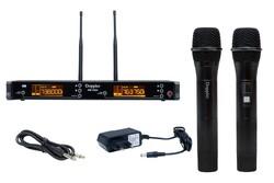 Doppler - DM-702H UHF Çift Telsiz El Mikrofonu
