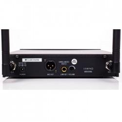 DM-500H Tek El Telsiz Mikrofon Çift Anten 6x16 Kanal Dijital - Thumbnail