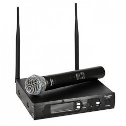 Doppler - DM-600H Profesyonel Tek El Telsiz Mikrofon Çift Anten 6x16 Kanal Dijital