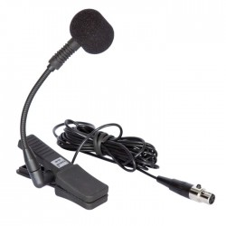 Doppler - SAX-5 Entruman Mikrofonu UHF Modellere Uygun Mandallı