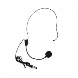Doppler - HM-20 Siyah Kafa Tipi Mikrofon Head-Set DM-302 Model için