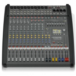 Dynacord - PowerMate 1000-3 10 Kanal 2 x 1000 Watt Anfili Mikser
