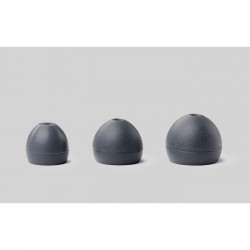 Shure - EASFX1-10S Soft Slikon (Gri), (5 çift) S