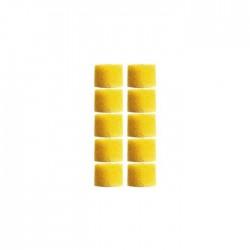 Shure - EAYLF1-100 Slikon 100 Takım (Sarı)