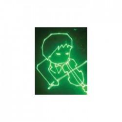 ILLUSION Yeşil Animasyon Lazer - Thumbnail