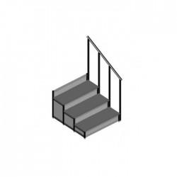 EM - Dayamalı Merdiven - 3 Basamaklı