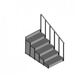 EM - Dayamalı Merdiven - 5 Basamaklı