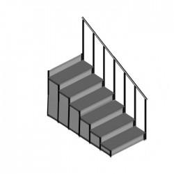 EM - Dayamalı Merdiven - 6 Basamaklı