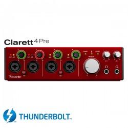 Focusrite - Clarett 4Pre Thunderbolt ses kartı