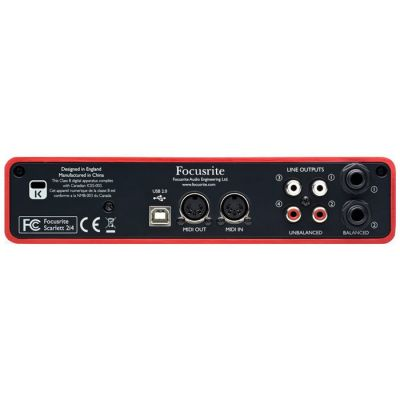 Scarlett 2i4 Mikrofon Preamplifikatörü