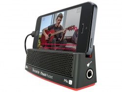 Focusrite - iTrack Pocket-Stereo Mikrofon ve gitar için iphone lightning girişli modellerle uyumlu ses kartı
