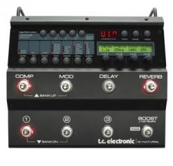 TC Electronic - G-Natural Gitar için kalteli efekt işlemci (Tuner - Mikrofon - Preamp)