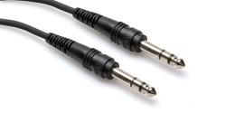 HOSA - 1/4'' TRS (M) - 1/4'' TRS (M) Balanslı kablo 3 mt (Erkek) CSS-110
