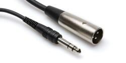 HOSA - 1/4'' TRS - XLR (M) balanslı kablo 1.5 mt (erkek) STX-105M