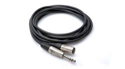 HOSA - 1/4′′ TRS - XLR (M) Profesyonel balanslı kablo 3 mt (erkek) HSX-010