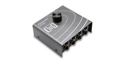 HOSA - Audio Switcher 1-Giriş/3-Çıkış veya 3-Çıkış/1-Giriş