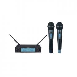 Mcs - HS-82 UHF Dijital 2 li Telsiz mikrofon