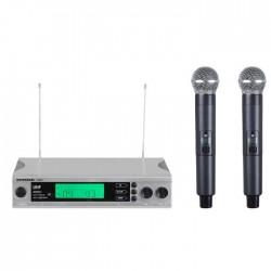 Intro-X - J - 89 Kablosuz 2'li Masa Mikrofonu