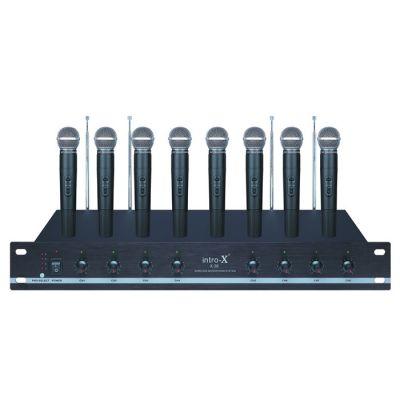 X 36 INTRO-X 8 El VHF Telsiz Seti
