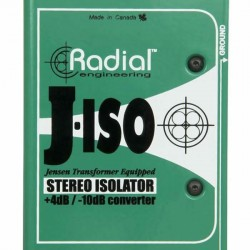 Radial Engineering - J-ISO Stereo Balans Dönüştürücü